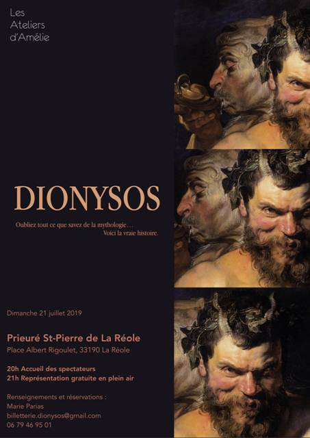 Spectacle Dionysos